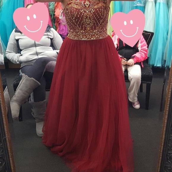 Royal Red Prom Dresses